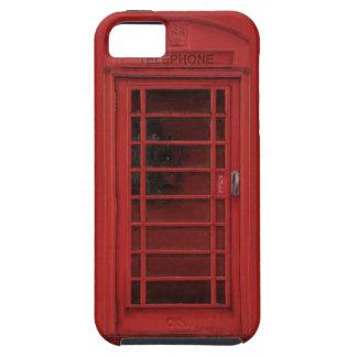 Cabina de teléfonos roja iPhone 5 Case-Mate carcasas
