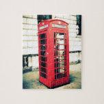cabina de teléfonos roja rompecabeza