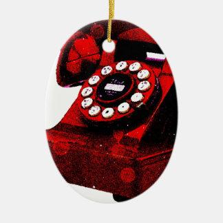 Cabina de teléfonos vieja del escritorio del arte adorno de reyes