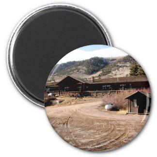 Cabina de Utah Imán Redondo 5 Cm