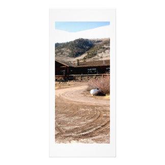 Cabina de Utah Tarjeta Publicitaria