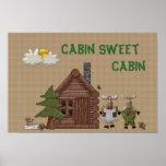 Cabina del dulce de la cabina impresiones