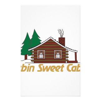 Cabina del dulce de la cabina papelería personalizada