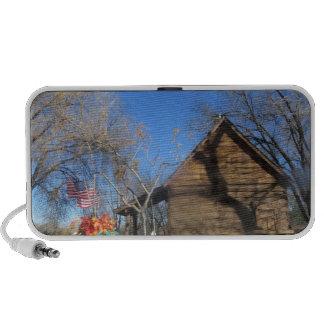 Cabina del mormón de Arizona Laptop Altavoz