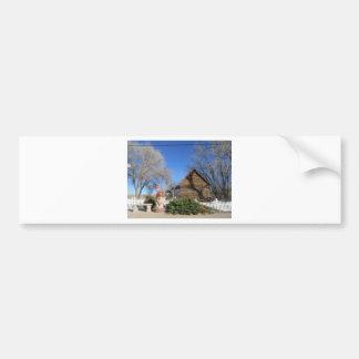Cabina del mormón de Arizona Pegatina Para Coche