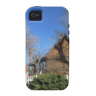 Cabina del mormón de Arizona Vibe iPhone 4 Funda