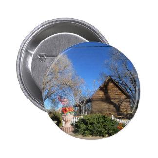 Cabina del mormón de Arizona Pin