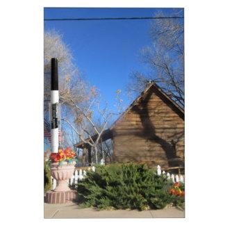 Cabina del mormón de Arizona Pizarra