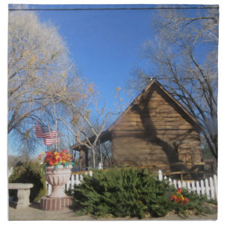 Cabina del mormón de Arizona Servilleta