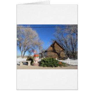Cabina del mormón de Arizona Tarjetas