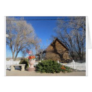 Cabina del mormón de Arizona Felicitación