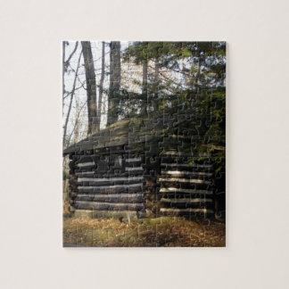Cabina en el Gran Cañón del PA - Leonard Harrison Rompecabezas Con Fotos