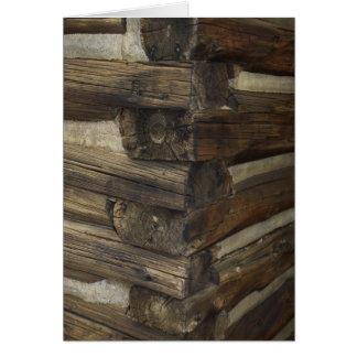 Cabina pionera de madera felicitacion