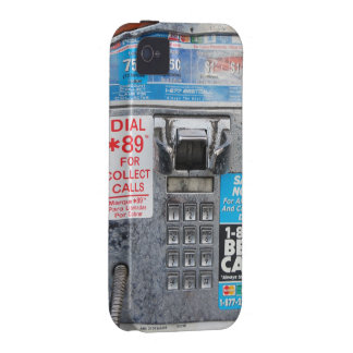 Cabina pública divertida del teléfono público iPhone 4/4S carcasas