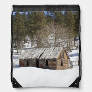 Cabina vieja en el Black Hills Mochilas