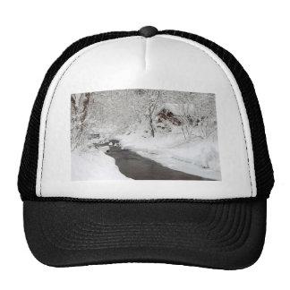 Cabina y cala de la montaña Nevado Gorros Bordados