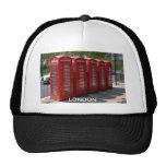 Cabinas de teléfonos rojas de Londres Gorro De Camionero
