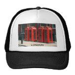 Cabinas de teléfonos rojas de Londres Gorro