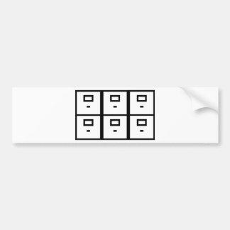 cabinet board cupboard office bumper stickers