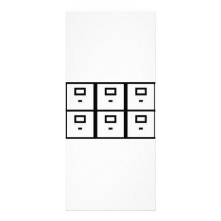 cabinet board cupboard office personalized rack card