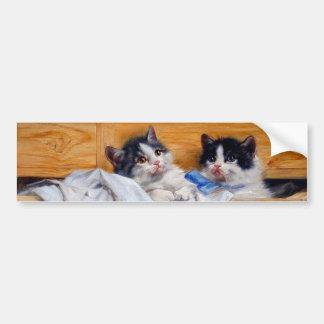 Cabinet cat bumper stickers