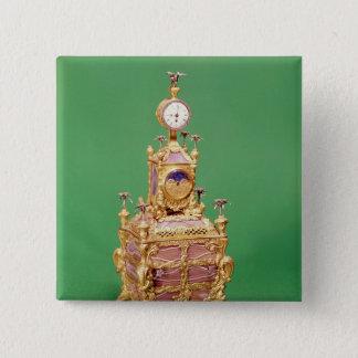 Cabinet clock, c.1766 button