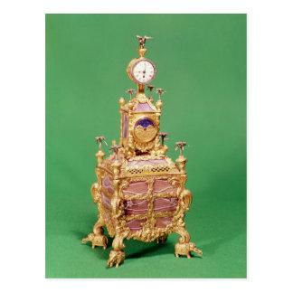 Cabinet clock, c.1766 postcard