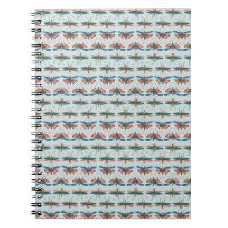 Cabinet de Seba Insect Pattern Notebook