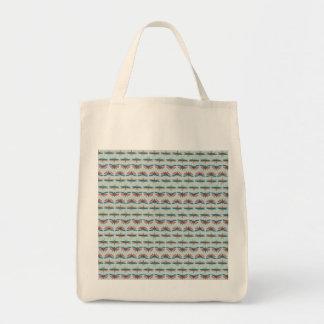 Cabinet de Seba Insect Pattern Tote Bag