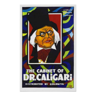 Cabinet Of Dr Caligari Movie Poster