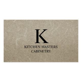 Cabinetry/remodelado de la tarjeta de visita