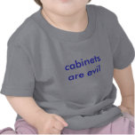 cabinets are evil shirts