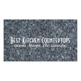 Cabinets Countertops Tile Stone Granite Marble Business Card