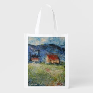 Cabins in Blue Mountains Grocery Bags