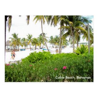 Cable Beach, Bahamas Postcard