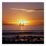 Cable Beach Sunset Poster