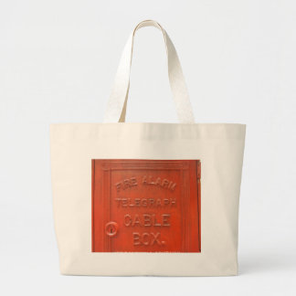 Cable Box Large Tote Bag