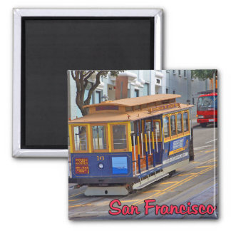 Cable Car in San Francisco Magnet