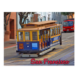 Cable Car in San Francisco Post Cards