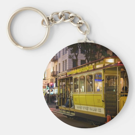 Cable Car Keychain