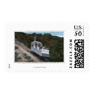 Cable Car on Incline View Postage