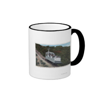 Cable Car on Incline View Ringer Mug