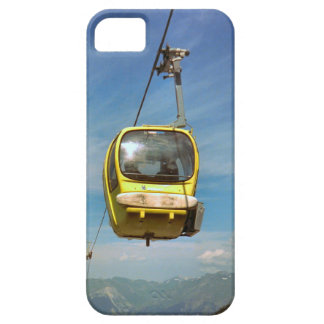 Cable car on the summit of  Mt Blanc range iPhone SE/5/5s Case