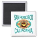 Cable Car San Francisco Fridge Magnets