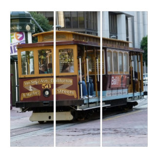 Cable Car Triptych