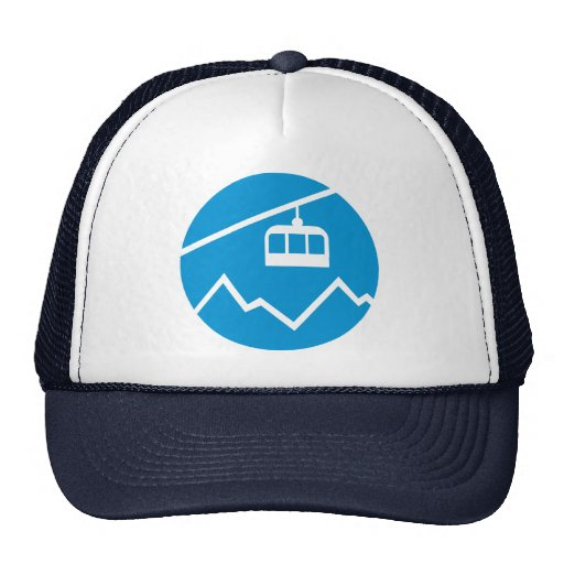 Cable car trucker hats