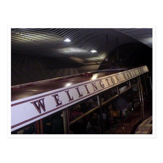 cable car wellington postcard