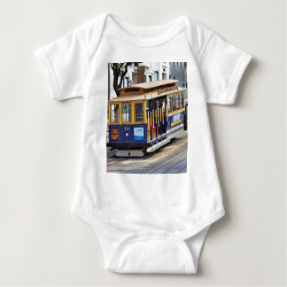 Cable Cars In San Francisco Baby Bodysuit