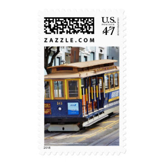 Cable Cars In San Francisco Postage