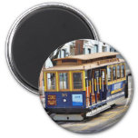 Cable Cars In San Francisco Refrigerator Magnets